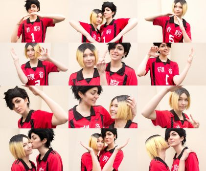 KuroKen - Heart Collage by LilaaLeluu