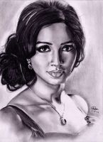 shreya ghoshal by akshay-nair