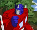 Optimus Prime by Peccadillos