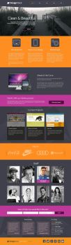 Free Design Company PSD Template by johnhswork