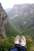 Hiking Vikos by reeses98424