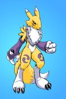 Renamon Color  monday noon by gurudJ
