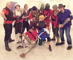 Tf2 Cosplay DreamHack winter 2014 by sariathebig