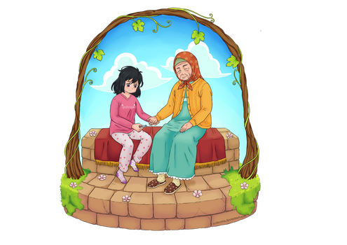 Time with grandma by voltronia