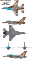 F-16I Knights of the Orange by bagera3005