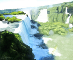 Iguazu Waterfalls by reynaruina