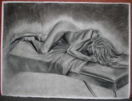 Untitled Female Nude by holdens-shadow