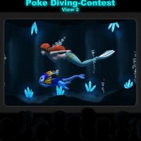 Poke Diving Contest 1 by UWfan-Tomson