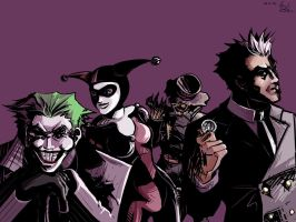 Rogues Gallery by ex-m