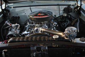 396 engine  chev chevelle by we-are-the-remnants