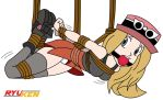 Serena Suspended (w/o drool) by blogman - Colored by Ryu-Ken55