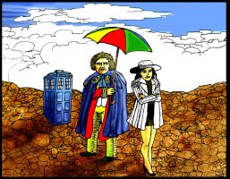 Dr Who Colin Baker by Whitsteen