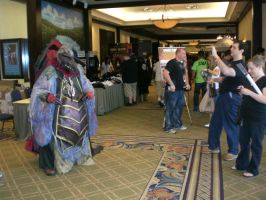 Skeksis at the con by dmringer