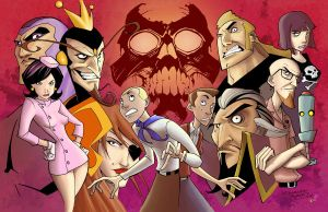 Venture Brothers Colors by eva1
