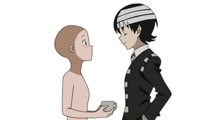 Soul Eater Not Kid x base by Basemakerofdarkness