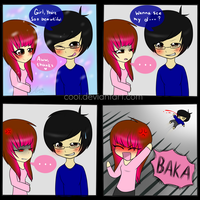 How to ruin a compliment .:comic:. by CooI