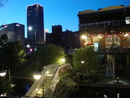 Downtown From Bricktown by pricegotphoto