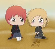 Money Commission: Sasori~x~Kinomi by Urufei-Chopsticks
