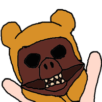YAY Pig Bear Man...Er...Man Bear Pig? *shrug* by embercoral