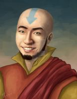 I'm Aang by zutaraxmylove