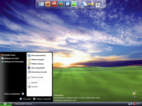 Desktop June 2008 by WindowsNET