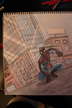 Spiderman commission by Crazyabby2012