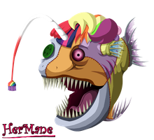 HerMane: Fish Form by Super-Zombie