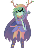 huntress wizard by Nintenderp23