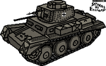 PzKpfw 38(t) n.A. by ServantofEntropy
