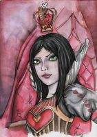 Queen of Hearts by Phoenix-zhuzh