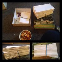 journal making endeavour part 1 by songsforever