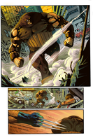 Wolverine page 2 - COLOR BATTLE 14 by Heri-Shinato