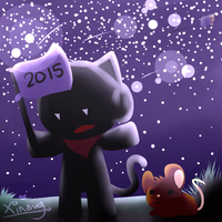Happy New Year! [2015] by Xinaug
