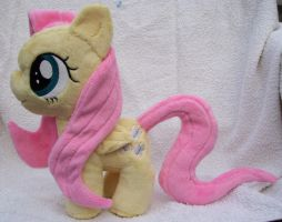 Filly Fluttershy Plushie by PlushieScraleos