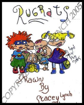 nickelodeon rugrats coloured by Rugrats-Club
