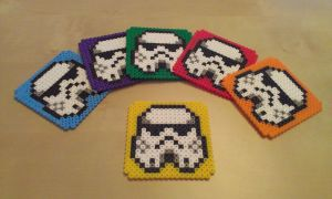 Troopers coasters by RavenTezea