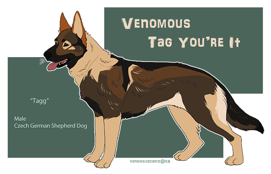 Tagg / Venomous Tag Youre It by ruthlessH4V0C