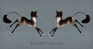 Koschei x Ajandi by SilveringOak