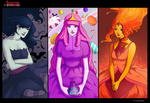 Queens and Princesses of AT by Marina-Shads