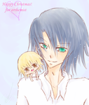 SW09: Athrun and Cagalli by ChikaBoo94