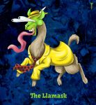Daily Llama Project - The Llamask by TrollGirl