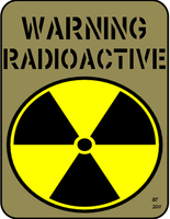 radioactive sign by desithen
