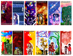 Bookmark Commissions by TheKeymashingQueen