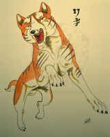 Ginga Riki by tussensessan