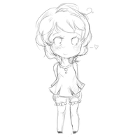 Maxiechu [Uncolored] by luvkey