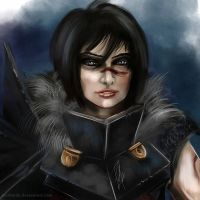Dragon Age 2: Lady Hawke by Artshardz