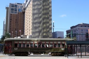 Streetcar on Canal by cynstock