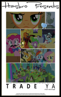 MLP : Trade Ya - Movie Poster by pims1978