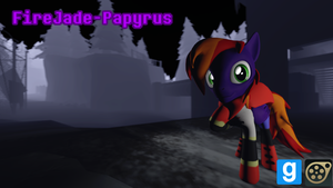 [DL] FireJade-Papyrus (Undertale) by MythicSpeed
