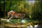 Taming Tigers. by Venomous-x-Stock